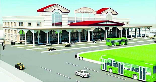 Bhubaneswar railway station model
