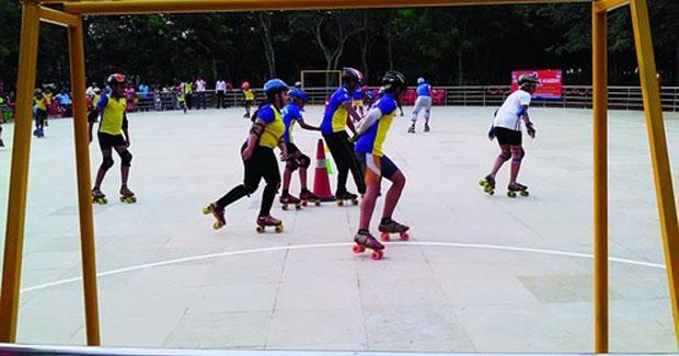 Bhubaneswar first skating rink