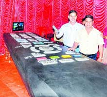 Odia brothers largest TV remote