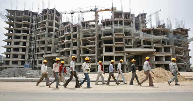 construction workers in odisha
