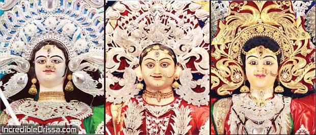 Cuttack Durga Idols