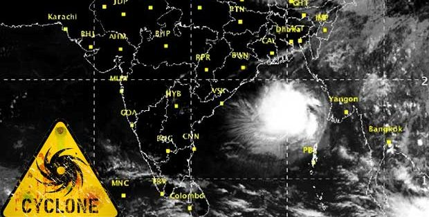 cyclone in odisha