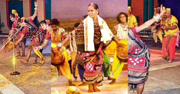 Dalkhai dancer Gurubari Mirdha