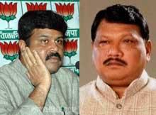 Dharmendra Pradhan and Jual Oram