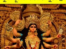 Durga Puja WhatsApp Odia image