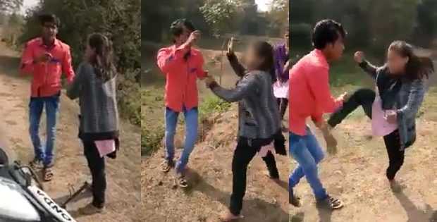 eve-teaser thrashed by odisha college girl