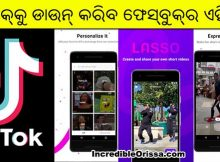 facebook tiktok app lasso