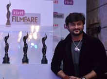 Anubhav at Filmfare award launch
