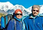 First Odia couple Mt Everest
