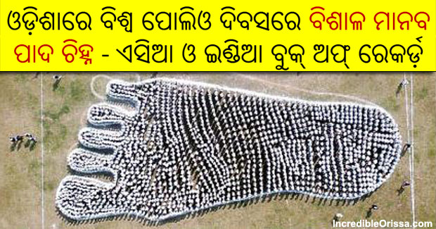 human chain in odisha