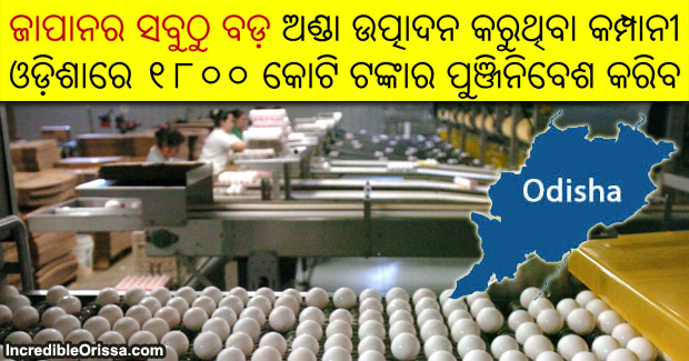 Japan top egg producer to invest in Odisha