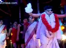 Jatra record dance on Bhanda Baba
