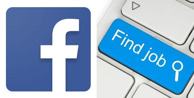 job on Facebook