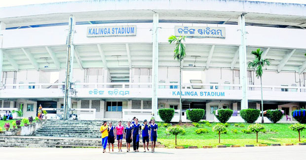 Kalinga stadium in Odisha