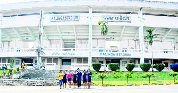 Kalinga stadium in Odisha