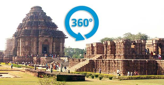 Konark 360 degree virtual tour