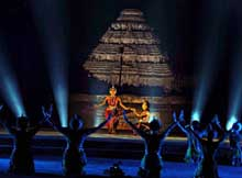 light and sound show at konark