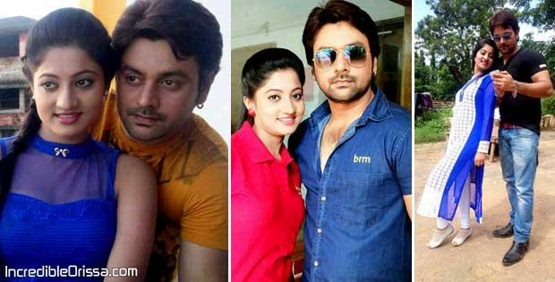 Lipsa Mishra and Sunil Kumar in Maya odia movie