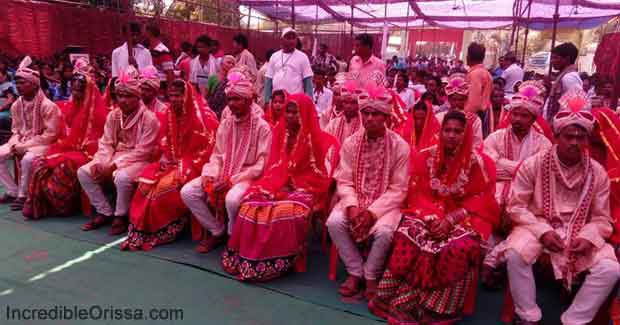 Mass marriage in Odisha