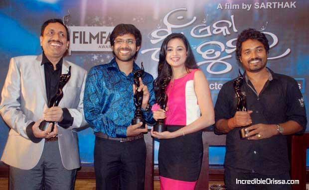Mu Eka Tumara Filmfare winners