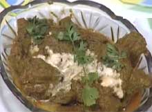 Mutton Hariyali recipe