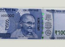 New Rs 1000 note