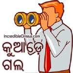 Odia Sticker