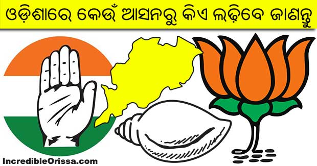 Odisha Assembly candidate list