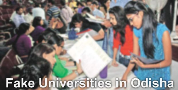 Odisha fake Universities