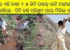 odisha farmer cuts mountain to irrigate lands