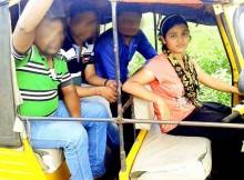 Odisha girl auto-rickshaw driver