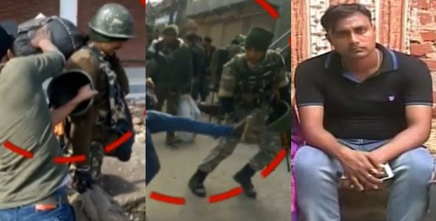 Odisha jawan assaulted by stone pelters in Kashmir