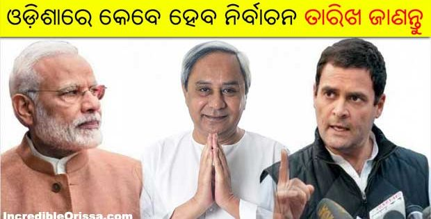 Odisha Lok Sabha Assembly elections 2019