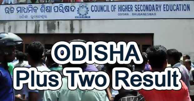 Odisha Plus Two Result