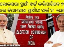 odisha poll expenses limit
