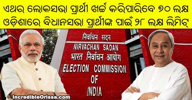 odisha poll expenses limit