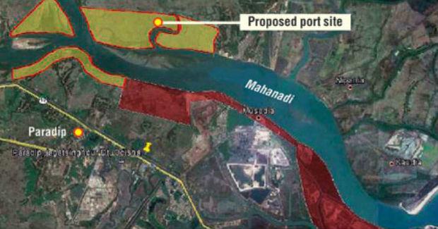 odisha river port