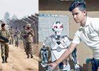 Odisha student creates humanoid robot