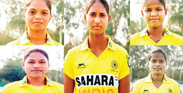 odisha women hockey players