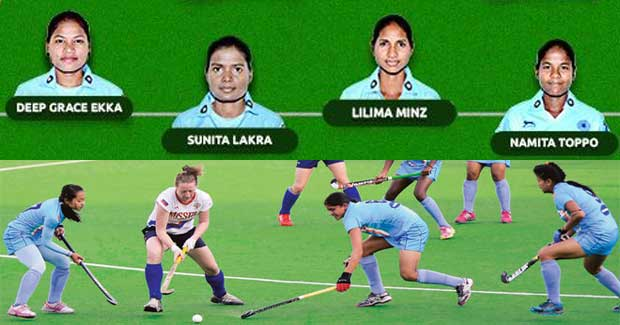 odisha women hockey players in Rio Olympics