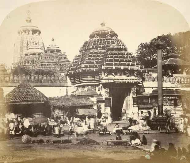 old photo of puri jagannath temple