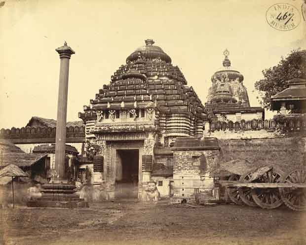 old picture of jagannath temple puri