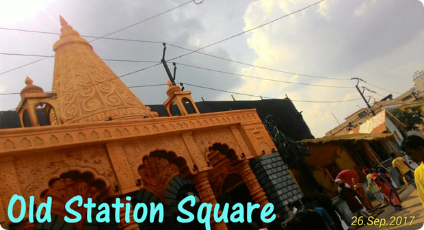 old station square durga puja