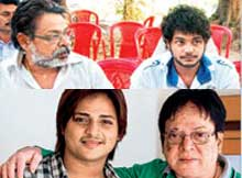 Ollywood celebrity father-son duos