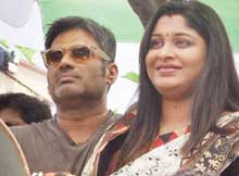 Ollywood stars campaign for election