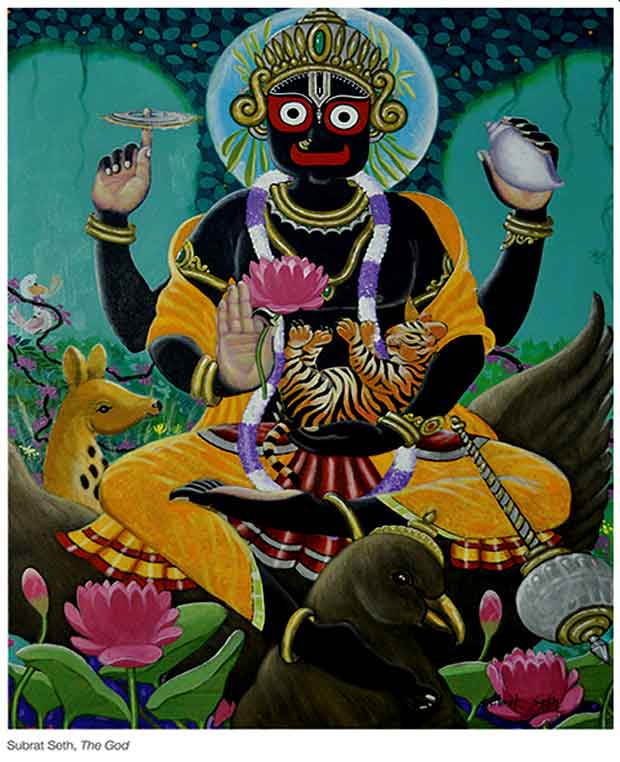 Painting of Jagannath