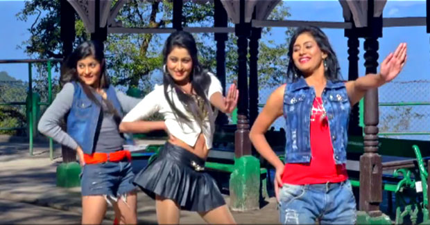 Prakruti Mishra, Ankita and Shraddha in Mitha Mitha odia movie