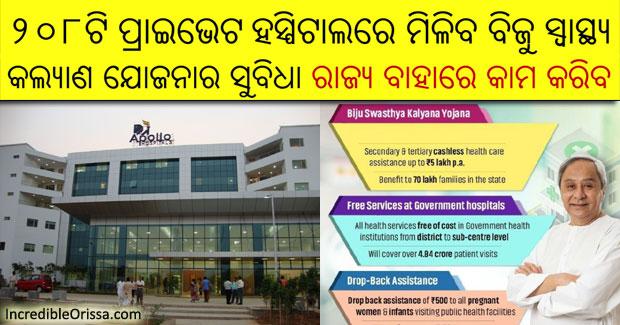 private hospitals Biju Swasthya Kalyan Yojana