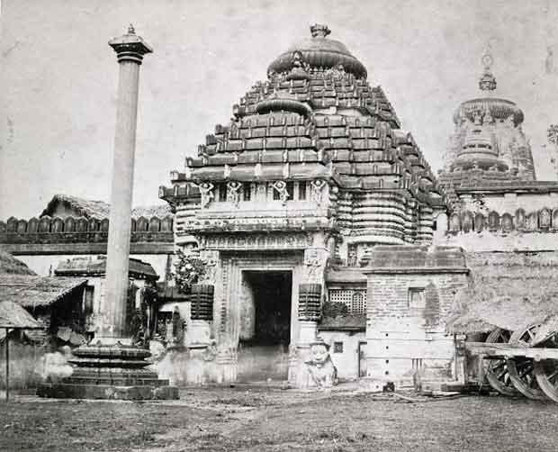 Puri temple old photograph