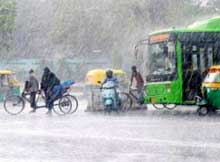 Heavy rainfall in Odisha